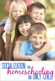 Thinking about homeschooling your only child? There are a few things to consider, especially with socialization and homeschooling an only child.