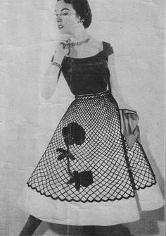 Oh how Betty loved her poodle skirt!
