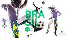 UNIVISION WORLD CUP 2014 BRANDING by Visualbox , via Behance