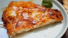 Τηγανόψωμα Greek Cheese Pie, Cheese Pies, Greek Cooking, Greek Recipes, Lasagna, Fries, Pizza, Geo, Ethnic Recipes