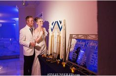 D. Park Photography / Teal and Gold Great Gatsby Wedding Inspiration / Style Unveiled