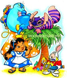 Lilo in wonderland