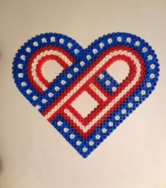 I love The USA Hama Beads