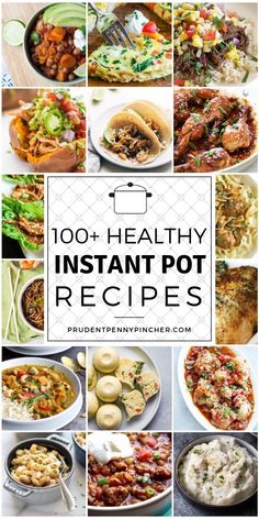 Instant Pot recipes that the whole family will love! Everything from Instant Pot breakfasts to desserts! Instant Pot dinner recipes you can have on the table quickly and easily! Cocina Natural, Instant Pot Dinner Recipes, Instant Recipes, Instant Pot Meals, One Pot Dinners, Dump Dinners, Instant Pot Pressure Cooker, Pressure Cooking, Slow Cooker Recipes