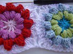 Häkeln im Quadrat: Step-by-Step: Mandala-Granny & Blogpause