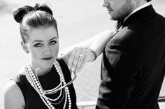 Chanel inspired engagement session
