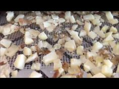 Dehydrating Potatoes for Prepper's Food Storage Using Excalibur Dehydrator :)