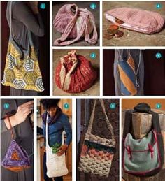 Knitting Bags: 9 Free Patterns! From Knitting Daily