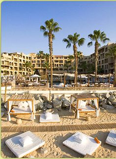 ME Cabo, Cabo San Lucas - contemporary, beachfront hotel very close to town. THE happening spot on weekends.