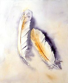 Feathers #Watercolor