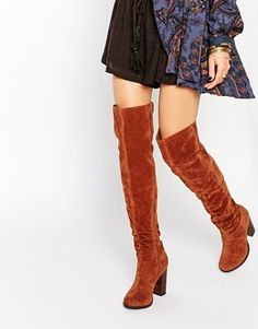 Miss KG Venice Tan Over The Knee Boots