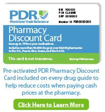 PDR+ Patient Drug Information and Pharmacy Discount Card | PDR.net