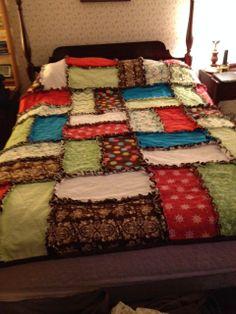 Log Cabin Rag Quilt | Rag quilt, Quilt patterns free and Log cabins : rag quilt squares - Adamdwight.com