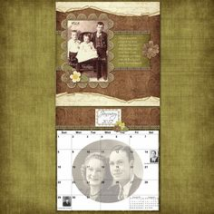 Family History Calendars - Scrapbook.com