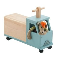 Moulin Roty Camion roue folle
