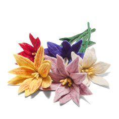 Consider #FairTrade Felt Wildflowers as a #handmade alternative to expensive blooms!