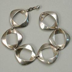 Georg Jensen sterling link bracelet