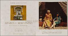 Izquierda: Portada del libro. Derecha: Shakira en la semana árabe organizada por el Centro Cultural Colombo Árabe. (1988)©arcadia