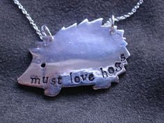 Must Love Hogs Necklace :: and we do!