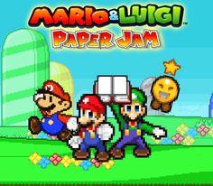 Mario and Luigi Paper Jam - Poster (My Version) by KingAsylus91