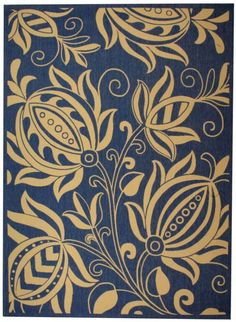 Safavieh Courtyard CY2961 Blue Natural Rug
