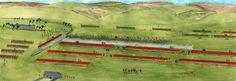 Battle plan of Culloden