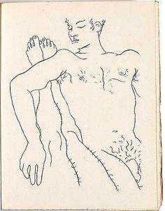 Jean Cocteau Querelle de Brest @Nackte Männer, Leopoldmuseum