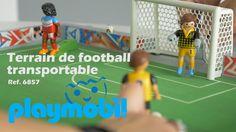 Playmobil Le terrain de football transportable (6857) - Démo en français