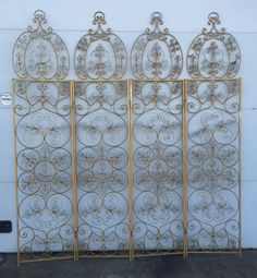 Ornate Vintage Gold Gilt Hollywood Regency style by DelcoDecor