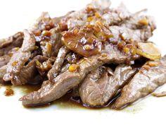 Bœuf sauté au piment et gingembre