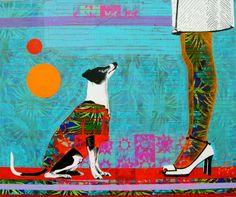 """Saatchi Art Artist: raquel gralheiro; Acrylic 2013 Painting """"Quem mecheu no meu armário? (who touched my wardrobe?)"""""""