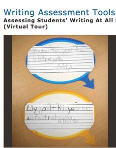 Writing Assessment:  The Balanced Literacy Diet has a great resource here about informal and formal writing assessment tools. This is a guide that can be adapted to highlight and assess the specific text features in student writing.