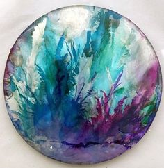 Under the Sea - Original Art - Resin and inks Petri Dish by OriginalAussieArt on Etsy Water Sculpture, Petri Dish, Resin Art, Under The Sea, Art For Sale, Unique Gifts, Handmade Gifts, Art Projects, Original Art