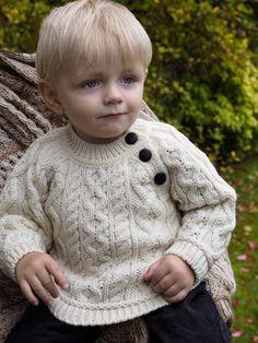 aa75a090 18 Best Kids Irish Knit Sweaters images in 2018   Merino wool ...