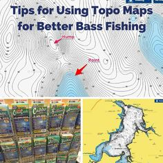 Using and understanding a topographic lake map for bass fishing is probably more important than what lure or reel you use. Here's what you should know.