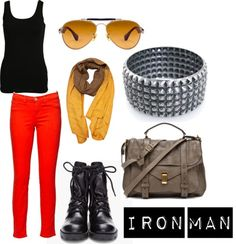 iron man inspired outfit