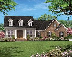 Colonial plan with optional nerd cave 2nd floor. Nice master suite.