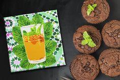 Canvas Pop Art Print Moroccan Tea Mint Zellige