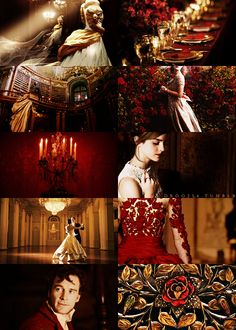 """fake movie meme → Guillermo del Toro's Beauty and the Beast, with Emma Watson, Michael Fassbender, and Ian Holm """" Then Beauty began to cry, and wandered sadly back to her own room. But she soon found..."""