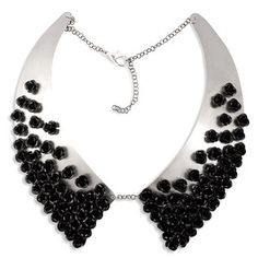 Oxford Collar Black Rose now featured on Fab.