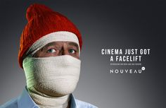 Cinema Nouveau: Life Aquatic with Steve Zissou Indiana Jones, Alex G, Ad Of The World, Napoleon Dynamite, Life Aquatic, Advertising Campaign, Ads, Almost Perfect, Orange