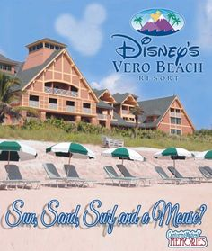 A Look at Disney's Other Florida Destination - Disney's Vero Beach Resort    Welcome to those of you joining me from Disney with Babies, Toddlers, and Preschoolers and those of you just hopping aboard. I am the 3rd stop on