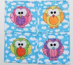 Owl Mug Mats