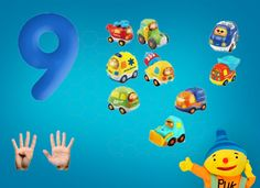 Rekenprikkels - 9 auto's Rubber Duck, Tweety, Pikachu, Teaching, Education, Fictional Characters, Learning, Fantasy Characters
