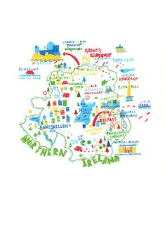 Northern Ireland map by Steph Marshall