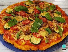 Polenta-Based Vegan Pizza Recipe , The vegan pizza with polenta dough It is a healthier, lighter and gluten-free option than the classic recipe. Polenta is a corn derivative that after . Gluten Free Pizza, Gluten Free Recipes, Vegan Recipes, Vegan Pizza Recipe, Pizza Recipes, Pizza Vegana, Polenta Pizza, Vegan Mozzarella, Pizza Bake