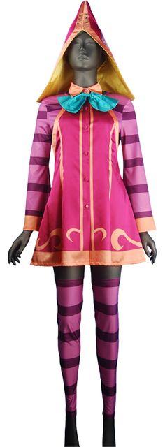 League of Legends Lulu cosplay costume LOL Fae Sorceress costumes rare
