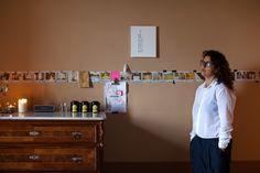 Inspired Jina Khayyer, writinng her first novel at Villa Lena. www.comeoutofthewoods.com