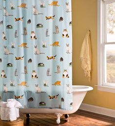 These Cats Love Water! Our Kitten Caboodle Shower Curtain Capture Cats  Doing What They Do Best U2013 Napping, Playing And Just Being Cat Tastic!