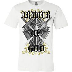Armour Of God#tattootshirts#tshirts#christiantshirts.